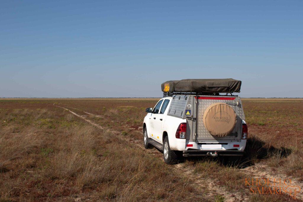 selfdrive safari vehicle in Zambia