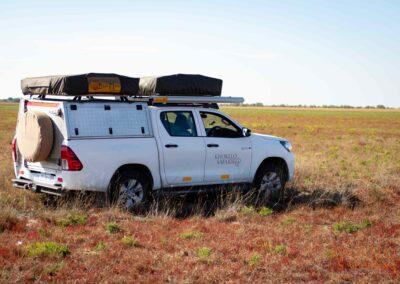 safari vehicle selfdrive Botswana Zambia
